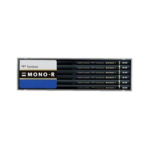 【送料無料・単価566円・10セット】トンボ鉛筆 鉛筆 モノR 2B MONO-R2B 1ダース プラケース(10セット)