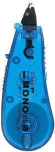 【ゆうパケット配送可】トンボ鉛筆 MONO 修正テープ モノCC5C CT-CC5C40 ブルー