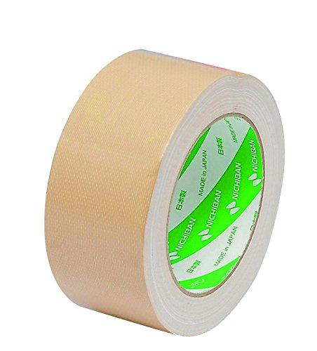ニチバン 布テープ 50mm×25m巻 121-50 黄土(10セット)