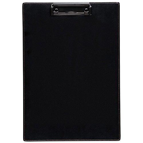 キングジム クリップボード レザフェス 合皮 黒 1933LFクロ