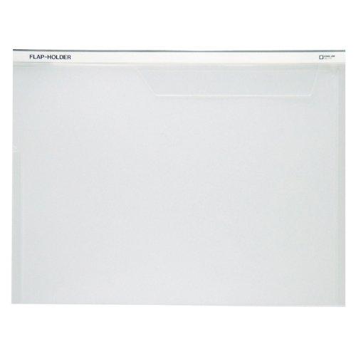キングジム フラップホルダー A4S 775 乳白(10セット)