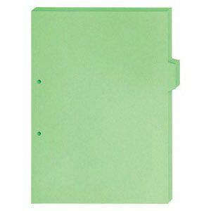 キングジム カラーインデックス5山 単色 a4タテ型 緑 907t20ミト キングジム 4971660029273