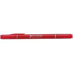 【115円×1セット】トンボ鉛筆 プレイカラーK あか WS-PK25 00203804