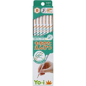 【474円×10セット】トンボ鉛筆 鉛筆 Yo-i もちかた B 六角軸 右手左手兼用 KE-KY02-B 1ダース(10セット)