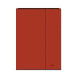 【2006円×1セット】ダイゴー アポイントステーショナリー 手帳カバー A5 包むタイプ レッド N1816