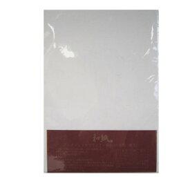 【送料無料・単価382円・30セット】ツバメノート ワープロコピー和紙A4 ホワイト A4 IJ-01(30セット)