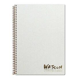 ミューズ 水彩紙 ホワイトワトソンブック SM 239g ホワイト 15枚入り HW-2401 SM (5セット)