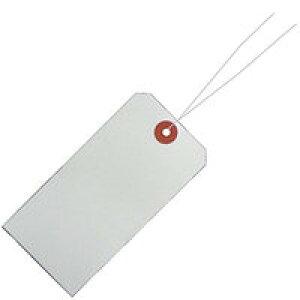 【3371円×1セット】リュウグウ 針金荷札 シロ  HG−101  4903466087010