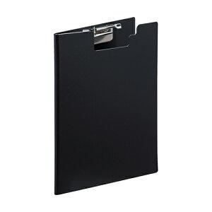 【285円×1セット】【リヒトラブ】AQUA Window BLACK STYLE クリップファイル
