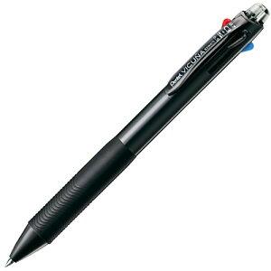 ビクーニャ 多機能ペン 油性ポールペン3色 + シャープペンシル BXW475A [ブラック]