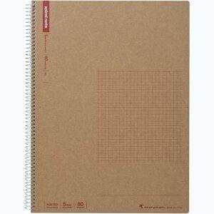 【505円×1セット】マルマン ノート スパイラルノート N245ES A4 80枚