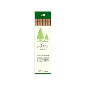 【335円×1セット】トンボ鉛筆 TOMBOW LA-KS2B [鉛筆 S 木物語 1ダース 2B]