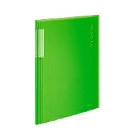 コクヨ クリヤーブック ノビータ A4縦 20枚 透明ライトグリーン コクヨ 4901480258409