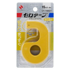 【137円×1セット】ニチバン セロテープ小巻カッターツキ CT−15DCY 4987167090937
