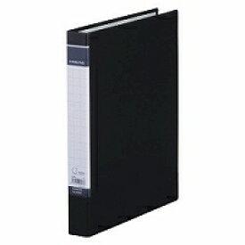 【208円×400セット】Dリングファイル BF 黒 608BF キングジム 4971660023073(400セット)