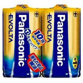 パナソニック アルカリ乾電池 エボルタ 単1形 LR20EJ/2SE(2本入) パナソニック 4984824811287