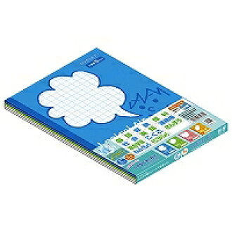 Logical air notebook squares 5 millimeters feh (ten sets)