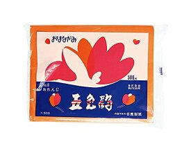 【送料無料・単価432円・40セット】合鹿製紙 おはながみ 500枚 おれんじ(40セット)