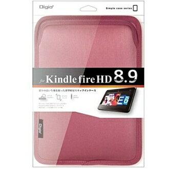 Digio dejio TBC-KF81303P[供平板電腦使用的女式無袖內衣界內情况(Kindle Fire HD 8.9對應)粉紅]