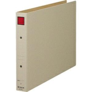 キングジム 保存ファイル 4393E B4E 30mm 灰/赤(10セット)