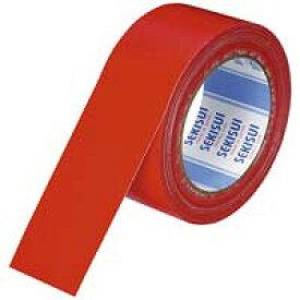 セキスイ 布テープ No600V N60RV03 50mm×25m 赤(10セット)