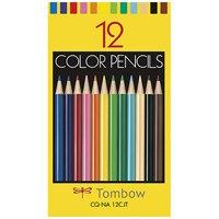 トンボ鉛筆 色鉛筆紙箱CQ-NA12CJT 12色(10セット)