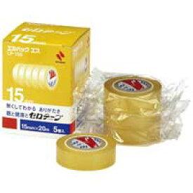 ニチバン セロテープ Lパック LP-15S 15mm×20m 5巻(5セット)