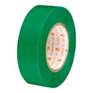 ヤマト ビニールテープ NO200-19 19mm*10m 緑(5セット)