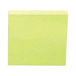 スリーエム ポストイット通常粘着製品エコノパック ノート グリーン 75mm×75mm 100枚×10パッド 6541-G ふせん 付箋 お得パック 【ポストイット】 4519001541314(5セット)