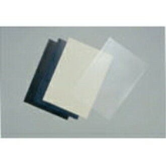 100 pieces of Ako buran sure bind cover S33A4B A4 transparence