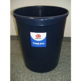 ジョインテックス 持ち手付きゴミ箱丸型11.8L ブルー N152J-B(10セット)