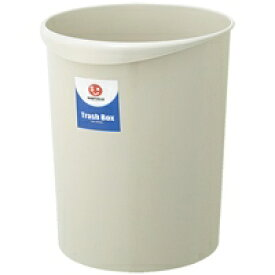 ジョインテックス 持ち手付きゴミ箱丸型18.3L グレー N153J-G(10セット)