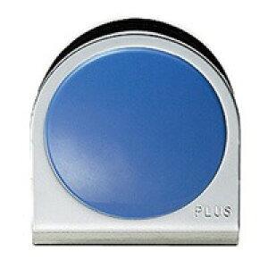 プラス カラーマグネット クリップ 大 ブルー(10セット)