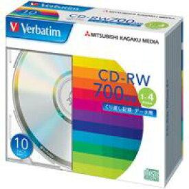 三菱化学メディア CD−RW [700MB] SW80QU10V1 10枚