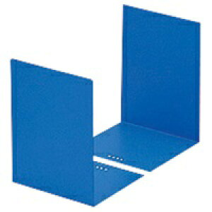 カール事務器 ブックエンド LB-55-B ブルー 1組/2個