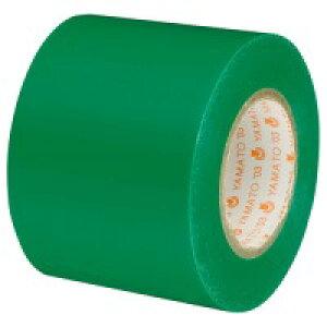 ヤマト ビニールテープ NO200-50-4 50mm×10m 緑(5セット)