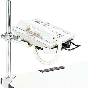 プラス 電話機台コーナークランプ CL-32FW