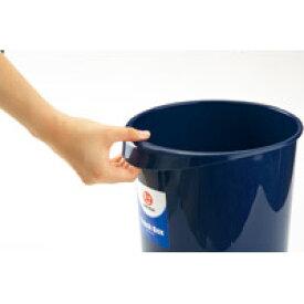 ジョインテックス 持ち手付きゴミ箱丸型8.1L ブルー N151J-B(10セット)