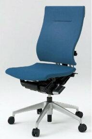 オフィスチェアスピーナチェアITOKIイトーキクロスバック肘なしアルミミラー(10セット)