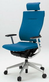 オフィスチェア スピーナチェア ITOKI イトーキ エクストラハイバック クロスバック T型肘付 アルミミラー