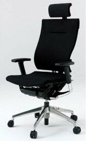 オフィスチェア スピーナチェア ITOKI イトーキ エクストラハイバック クロスバック アジャスタブル肘付 シルバーメタリック(10セット)