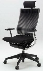 オフィスチェア スピーナチェア ITOKI イトーキ エクストラハイバック エラストマーバック T型肘付 ブラック ブラック(10セット)
