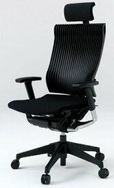 オフィスチェア スピーナチェア ITOKI イトーキ エクストラハイバック エラストマーバック アジャスタブル肘付 ブラック ブラック