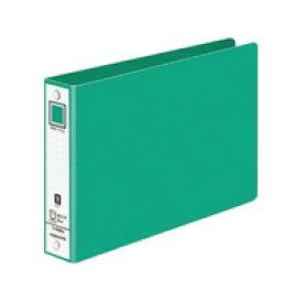 【単価264円×10セット】KOKUYO(コクヨ)リングファイル色厚板紙表紙B6横内径30mm220枚収容2穴ミドリフ-408G (10セット)