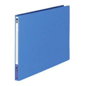 【415円×1セット】KOKUYO(コクヨ)レターファイル色厚板紙表紙B4横12mmとじ2穴 青フ−559B