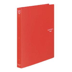 【1481円×1セット】KOKUYO(コクヨ)クリヤーブック替紙式A4縦30穴23枚ポケット 赤ラ−460R