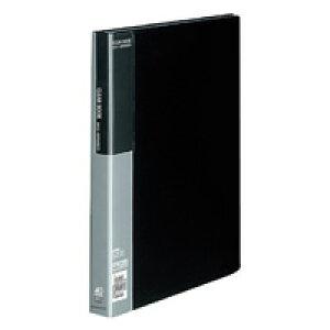 【739円×1セット】KOKUYO(コクヨ)クリヤーブック固定式A4縦40枚ポケット 黒ラ−B40D