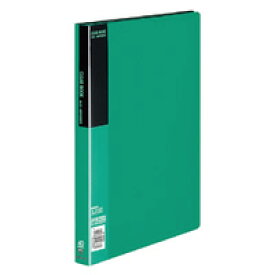 コクヨ クリヤーブック 固定式 a4縦 ポケット 緑 ラーb コクヨ 4901480146881