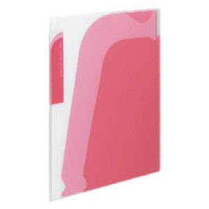 【318円×1セット】KOKUYO(コクヨ)ポケットブック<ノビータ>A4S・透明ピンクラ−N210P
