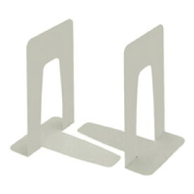 KOKUYO(コクヨ)ブックエンド特大212×150×230mm鋼板1組 ライトグレーBS−35NM